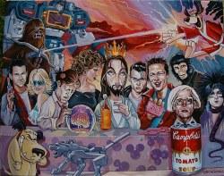 20102017: Ultima cena Pop Culture Last Supper