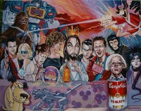 Pop Culture Last Supper