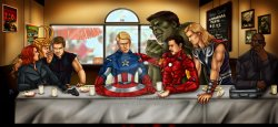 06102017: Ultima cena the avengers last supper