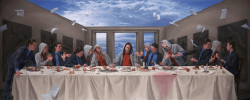01122017: Ultima cena Joel Rea - Last Supper