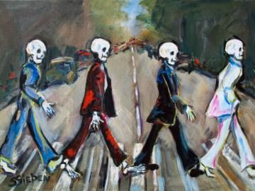 abbey road parodies skull