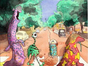 abbey road Aliens
