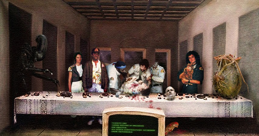 last supper alien