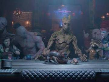 last supper guardiani della galassia I am Groot