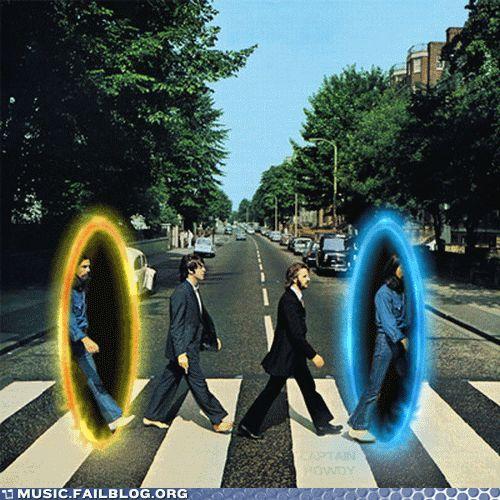 Abbey Road teletrasporto