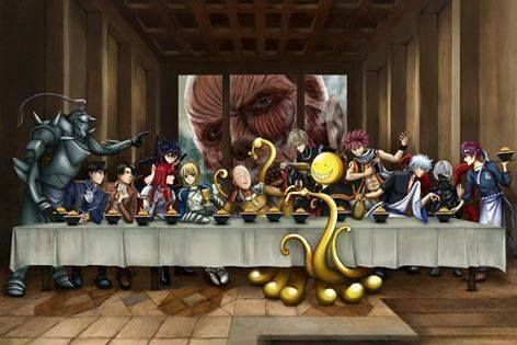 last supper manga