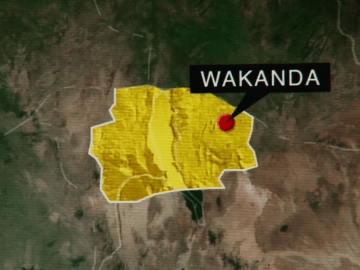 wakanda dove si trova