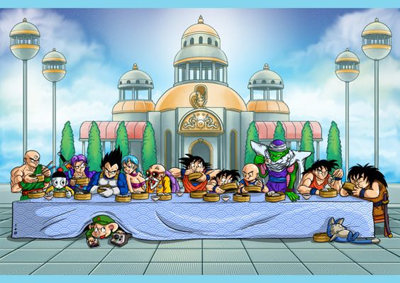 lastsupper dragon ball