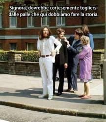 19122018: Abbey Road Signora si sposta per favore