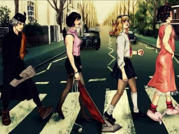 Abbey road queen I want to break free