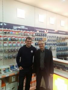 Wir beglückwünschen unseren neuen Franchisenehmer Jens Steinhorst zu diesem tollen Laden.