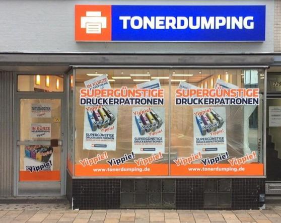 Morgen eröffnet TONERDUMPINGs erste Hamburg Filiale in Altona