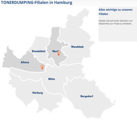 ab Mitte Februar: zwei Filialen in Hamburg