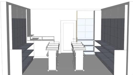 Die Ladenbauplanung für die Berliner Allee 55-61