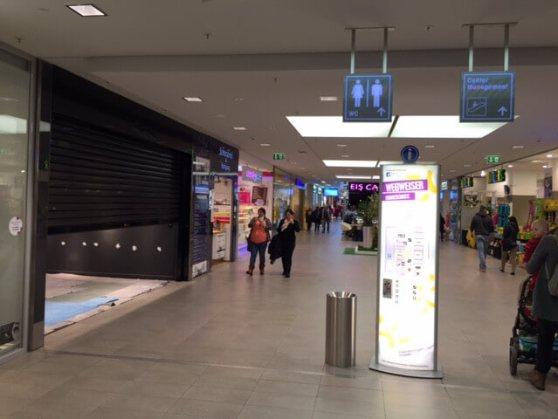 Im Erdgeschoss der Hamburger Meile - neben dem Donutladen und gegenüber vom Reisebüro - entsteht der neue TONERDUMPING.