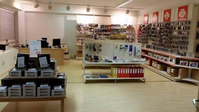 Das letzte Foto vor der Neueröffnung von heute morgen. Tonerdumping-Österreich hat einen neuen Firmensitz.