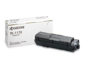 Der Kyocera Toner TK-1170 kostet mehr als doppelt so viel wie der TONERDUMPING-Alternativtoner