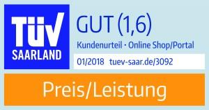 """Das neue Siegel """"Preis/Leistung"""""""