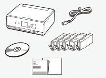 TS5050 - der Lieferumfang