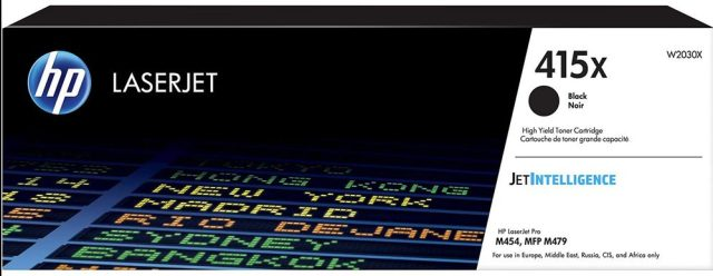 HP 415X Toner schwarz