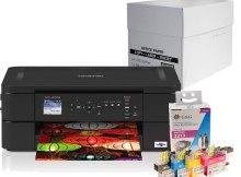Das Homeoffice-Set: Ein Drucker, 4 zusätzliche Patronen und 2.500 Blatt Papier