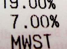 Die MWST beträgt nun wieder 19 Prozent.