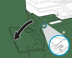 Replacing Toner Cartridge for HP M631, HP M632, HP M633