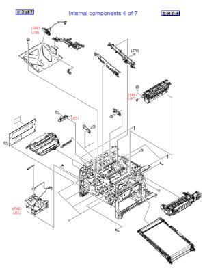 RM1-5604-010CN Genuine HP Position Detect Assy