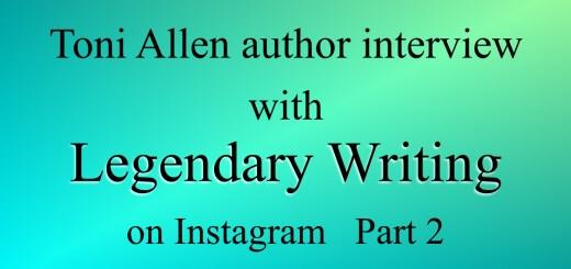 Legendary Writing blog post Part 2