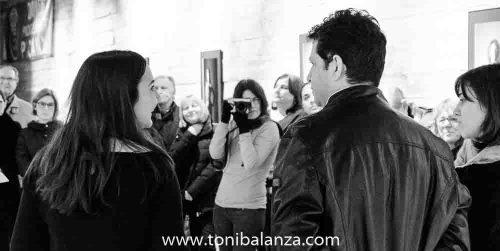 Toni Balanzà durante la inauguración en Picanya