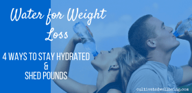 stay hydrated for weight loss