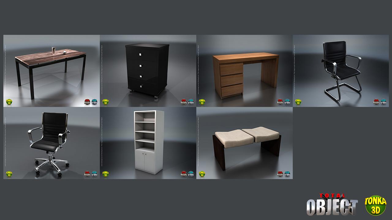 Modelos 3D low poly curso VRay Unreal Engine 4
