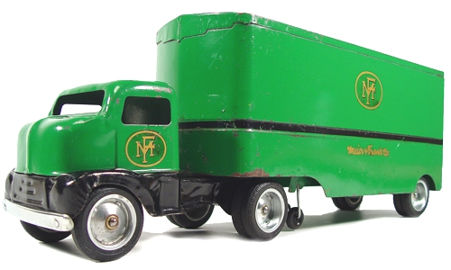 Selling Tonka Toys? 1953 Meier and Frank Private Label Tonka Toys Semi