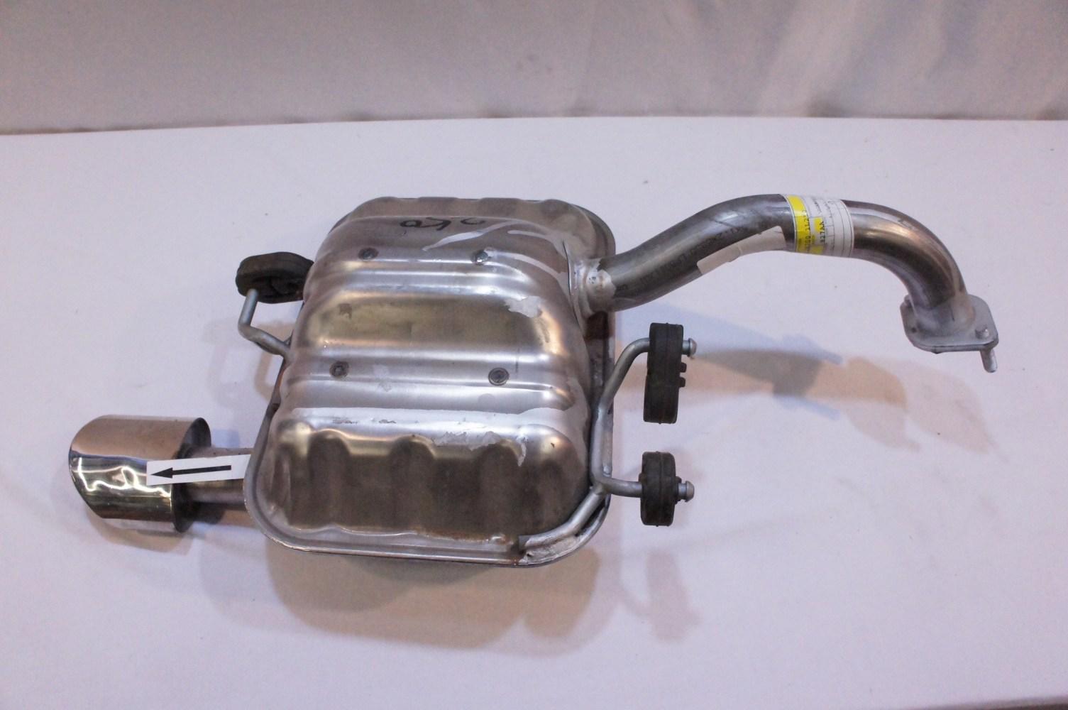 medium resolution of 2007 2009 kia spectra 5 main muffler assembly 28700 1l250