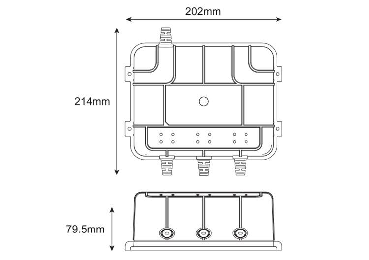 China 6V/12V Waterproof Smart On-Board Battery Bank