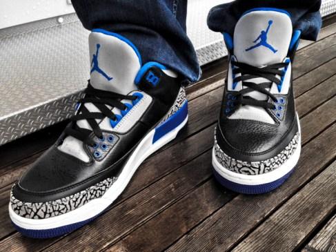 Powl with Jordan Sport Blue - 1