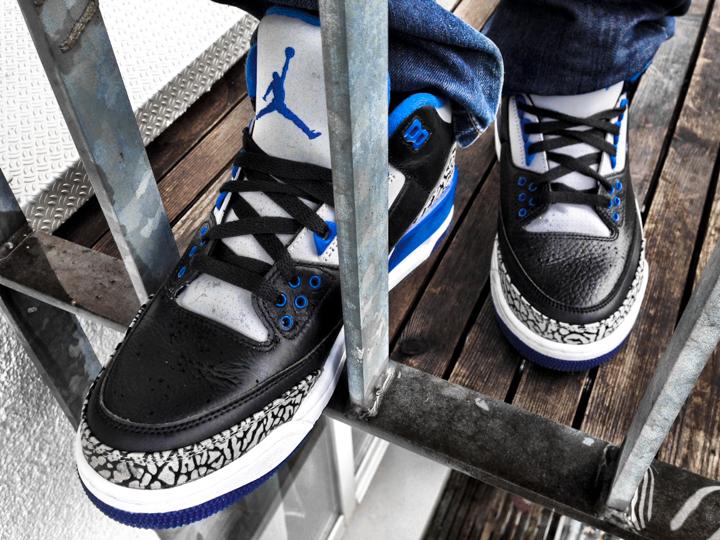 Powl with Jordan Sport Blue - 4