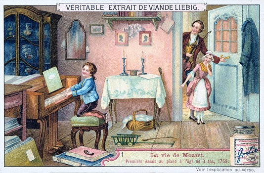 Mozart, Enfant Prodigieux