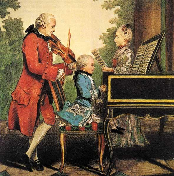 Mozart au clavier