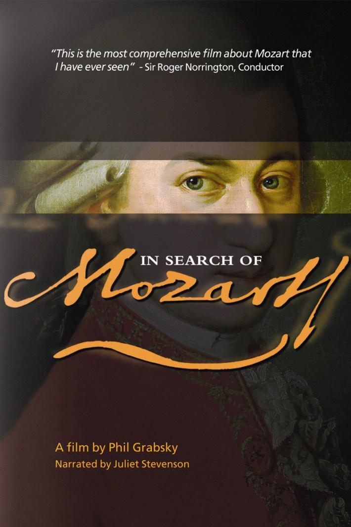 Affiche À la recherche de Mozart