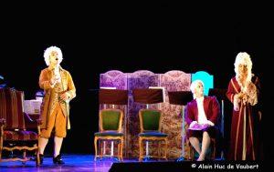Mozart compose à vue l'air de la Reine de la nuit.