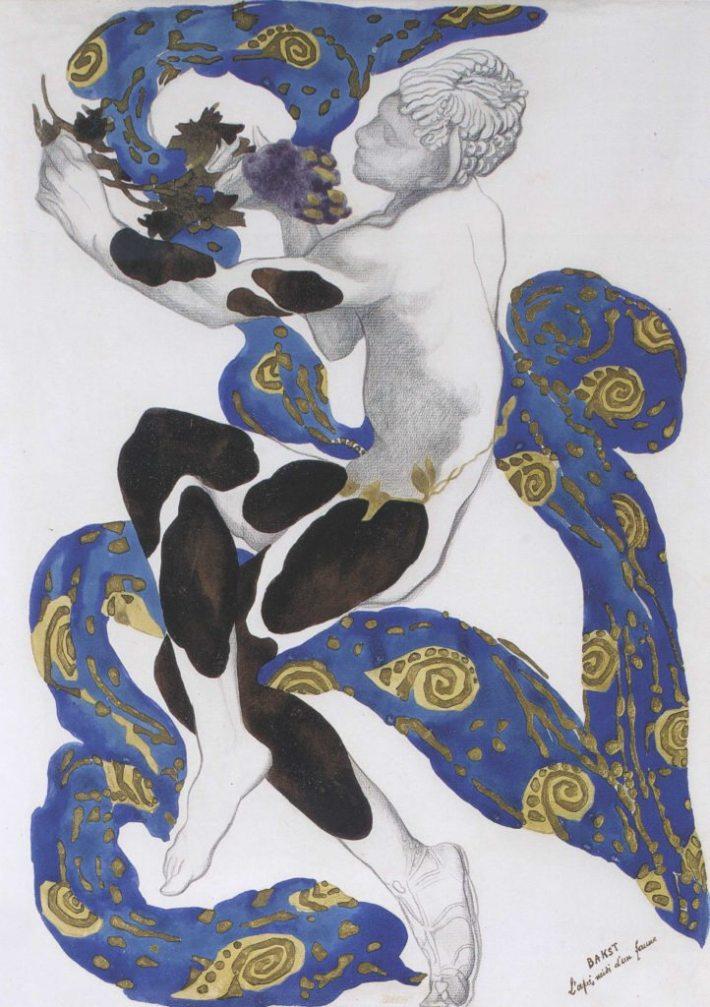 "Costume for Vaslav Nijinsky in ""L'Apres-midi d'un Faune"""