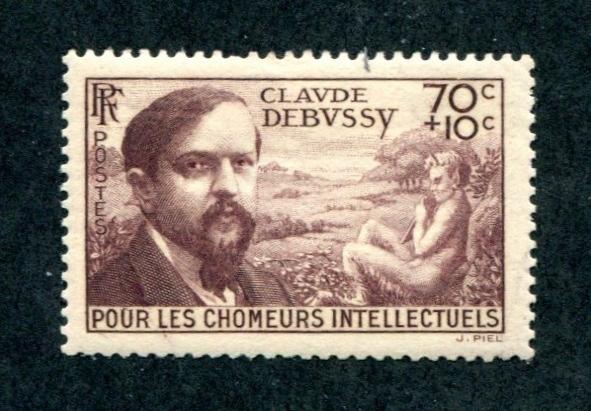 Timbre avec Debussy de 1939