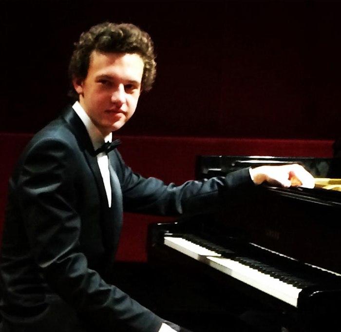 Rodolphe Menguy au piano