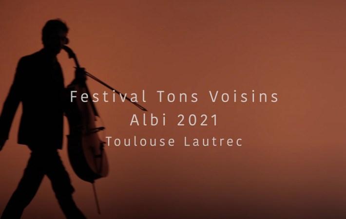 Festival de musique de chambre Tons Voisins, bande annonce pour l'édition 2021
