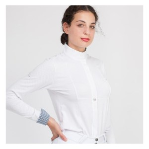 For Horses Elisabetta Show Shirt Stevneskjorte