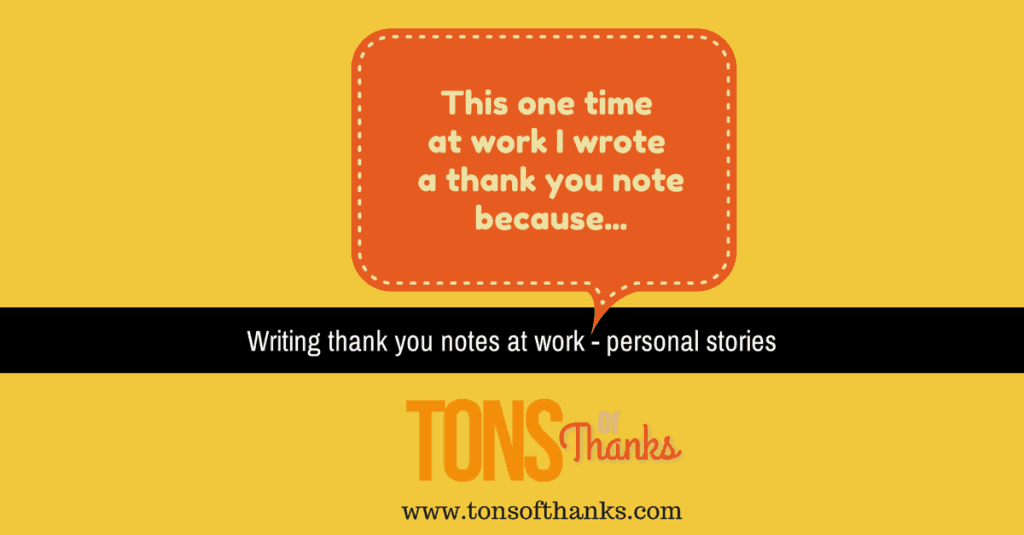 Thank You Note Stores From Work Earning Employee Of The Month
