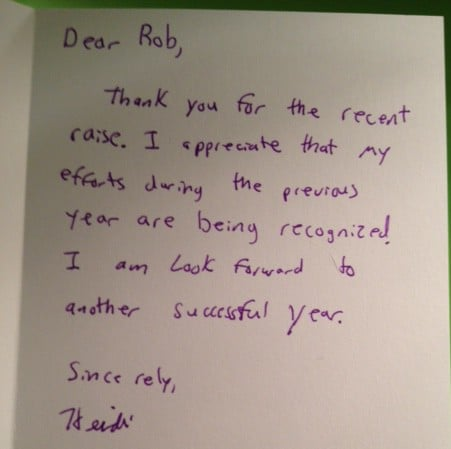 How to thank boss for raise or bonus with examples – Thank You Notes to Boss
