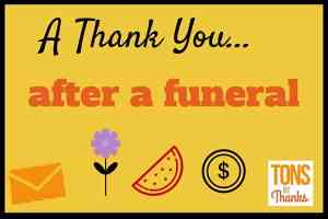 Funeral thank you note wording examples