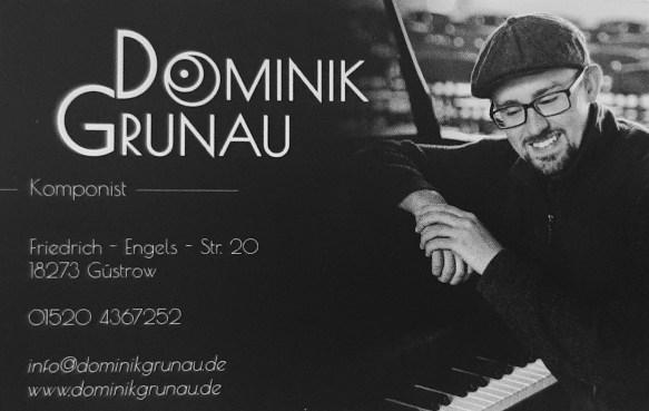 Visitenkarte Dominik Grunau
